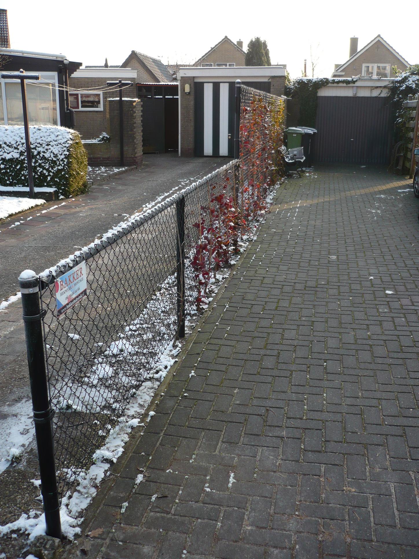 Gaashekwerk - tuinscheiding