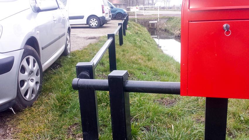 Bakker Hekwerk Plantsoen barricade hekwerk