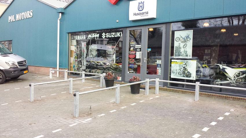 parkeer barricade | hekwerk