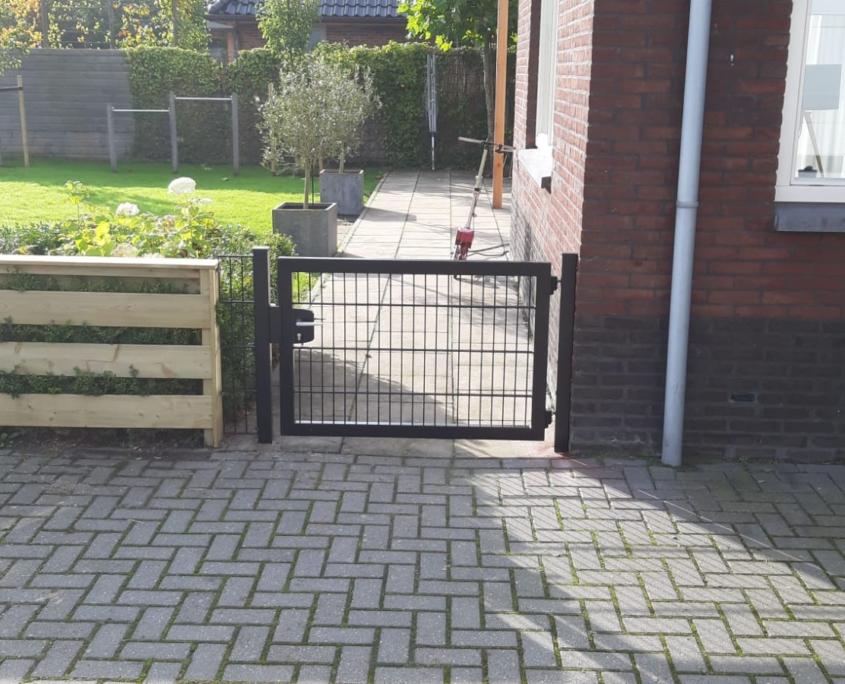 Tuin toegangshek | Bakker Hekwerk