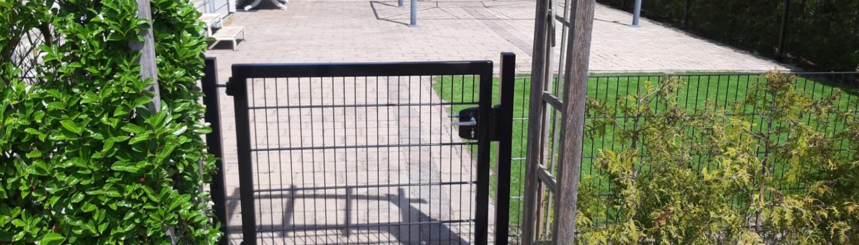 tuinhek poort | Bakker Hekwerk